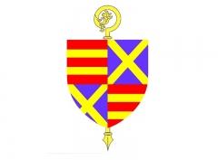 Abbaye de Saint-André-de-Gouffern - English: Blason Abbaye de Saint-André-en-Gouffern, La Hoguette, Calvados