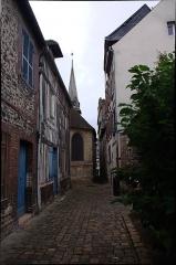 Manoir de Roncheville -  Street of the small Butcher's Shop.