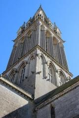 Eglise - Français:   Clocher de l\'église saint Martin de Langrune-sur-Mer (#100wikicommonsdays day 74)