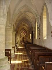 Eglise - Français:   bas-côté droit de l\'église de Langrune