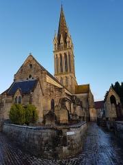 Eglise - Français:   Église Saint-Martin de Langrune-sur-Mer en Janvier 2018 (Calvados, Basse Normandie)