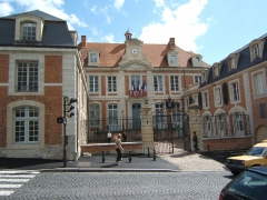 Hôtel de ville - English: Town hall of Lisieux, Calvados