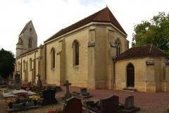 Eglise - Français:   L\'église Saint François des Odon à Louvigny 14.
