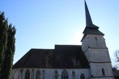 Eglise - Français:   Église Saint-Jean-Baptiste de Manerbe