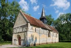 Ancienne église de Sainte-Marie-aux-Anglais - Le Mesnil-Mauger (Calvados)