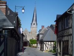 Eglise - English: Moyaux (Normandy)