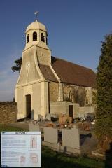 Eglise - English: Mutrécy, Saint-Clair's church.