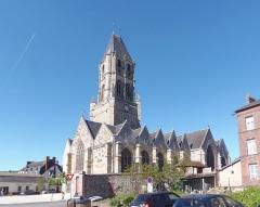 Eglise Notre-Dame - Français:   Orbec (Normandie, France). L\'église Notre-Dame.