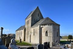 Eglise - Français:   Osmanville (Calvados)