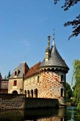 Château, actuellement annexe du musée intercommunal de Lisieux - English: St. Germain de Livet Castle was built in 15-16th century.