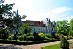 Château, actuellement annexe du musée intercommunal de Lisieux - English: The overview of the St. Germain de Livet Castle, Normandy - FRANCE.