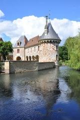Château, actuellement annexe du musée intercommunal de Lisieux - English: Castle of Saint-Germain-de-Livet (France, Normandie).