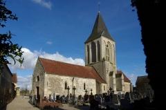 Eglise - Français:   L\'église Saint Germain de St Germain le Vasson, Calvados.
