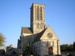 Eglise de Norrey-en-Bessin - Saint-Manvieu-Norrey (Normandie, France). L'église Notre-Dame-des-Labours de Norrey-en-Bessin.