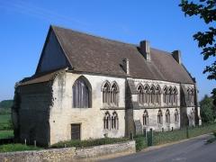 Ancienne abbaye - Français:   Troarn (Normandie, France). L\'abbaye Saint-Martin.