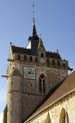 Eglise - English: Detail of the church Notre-Dame in Urville