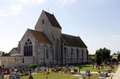 Eglise - Français:   L\'église Saint-Martin, Ussy, Calvados.