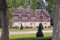 Château de Vaussieux - Deutsch: Schloss Vaussieux in Vaux-sur-Seulles, Calvados, Normandie; ehemalige Mühle