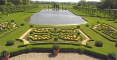Château de Vendeuvre -  Garden borders