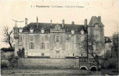 Château de Vendeuvre - English:   Ce panorama à échelle réduite des arts décoratifs du XVIe siècle à 1930, comprend plus de 700 meubles d\'époque et des milliers d\'objets. Foto del castillo en 1930.