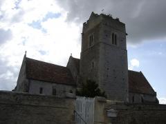Eglise de Grisy - Français:   église Saint-Brice à Grisy, vue du nord-est