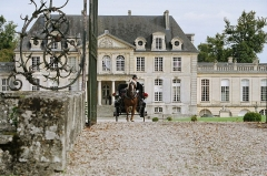 Château de Versainville -  Cour d'honneur du château de Versainville