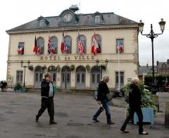 Hôtel de ville - Deutsch: Rathaus am Hafen von Honfleur