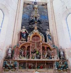 Eglise Saint-Pierre-Saint-Paul - Retable de la Passion de l'église d'Aignay-le-Duc (Côte-d'Or)