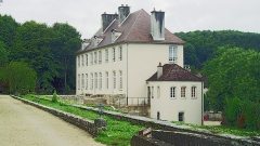 Château de Tavannes - Français:   Façade est du château de Tavannes