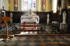 Eglise - English: The Main Altar