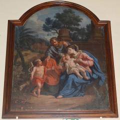 Eglise - English: Painting: The Holy Family