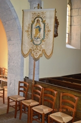 Eglise - English: A Processional Banner
