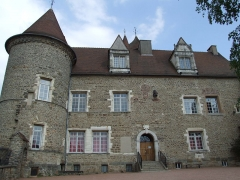 Château des Princes de Condé - English: Arnay-le-Duc,  Burgundy, FRANCE