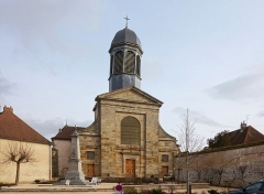 Ancien prieuré - Français:   L\'Église Saint-Laurent d\'Arnay-le-Duc.
