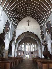 Ancien prieuré - English: Saint-Laurent church, Arnay-le-Duc,  Burgundy, FRANCE