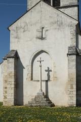 Eglise - Deutsch: Katholische Kirche Saint-Martin in Auxey-Duresses im Département Côte-d'Or (Bourgogne-Franche-Comté/Frankreich)