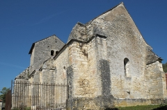 Eglise du Petit Auxey - Deutsch: Kirche Saint-Symphorien in Auxey-le-Petit (Auxey-Duresses) im Département Côte-d'Or (Bourgogne-Franche-Comté/Frankreich)