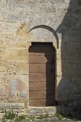 Eglise du Petit Auxey - Deutsch: Kirche Saint-Symphorien in Auxey-le-Petit (Auxey-Duresses) im Département Côte-d'Or (Bourgogne-Franche-Comté/Frankreich), romanisches Seitenportal