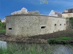 Château - English: Auxonne - Château Louis XI - Tour Basse des Moulins,  Burgundy, FRANCE