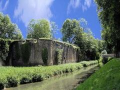 Château - English: Auxonne - Château Louis XI - Tour de Beauregard,  Burgundy, FRANCE