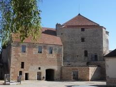 Château - English: Auxonne - Château Louis XI - Tour Notre-Dame,  Burgundy, FRANCE