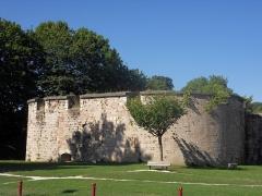 Château - English: Auxonne - Château Louis XI - Tour du Pied-de-Biche,  Burgundy, FRANCE