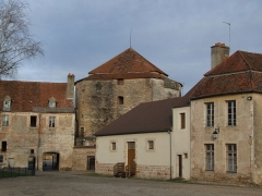Château - English: Auxonne,  Burgundy, FRANCE