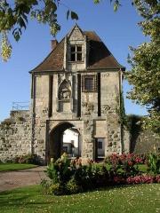 Porte Comté - English: Auxonne, La porte de Comté, Burgundy, FRANCE
