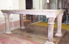 Eglise Saint-Jean-l'Evangéliste -  Bar-le-Régulier, Saint-Jean-l'Evangeliste, Autel