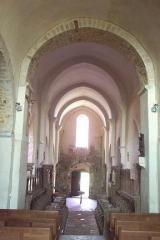 Eglise Saint-Jean-l'Evangéliste -  Bar-le-Régulier, Saint-Jean-l'Evangeliste, Nef