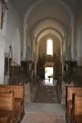 Eglise Saint-Jean-l'Evangéliste -  Bard le Régulier Eglise Nef