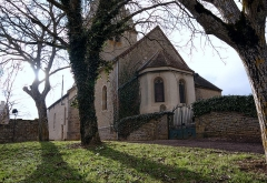 Eglise - English: Bellenot-sous-Pouilly: the church - the chevet