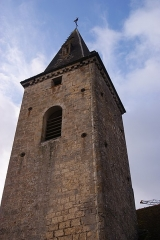 Eglise -  Tower and spire