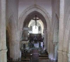 Eglise et son cimetière -  Bussy-le-Grand, Église Saint-Antonin, Nef